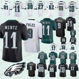Philadelphia 33 Eagle jerseys 11 Carson Wentz 9 Nick Foles 86 Zach Ertz 20 Brian  Dawkins 2019 new men jersey eagles jerseys outlet 9c42b879a