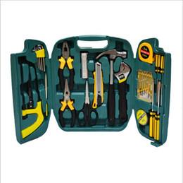 27 pçs / set dom conjunto conjunto de ferramentas de combinação de madeira caixa de ferramentas elétrica casa terno combinação ferramenta de reparo de