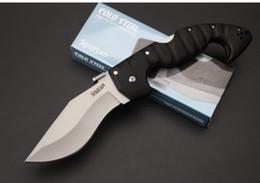 machetes aço frio faca Tactical exterior dobrável tática EDC caça faca de sobrevivência de acampamento tático defensivo faca militar de