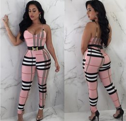 pocket jumpsuits rompers Coupons - Fashion Women Slim Fit Bodycon Rompers Jumpsuits Sheath Women Sexy Summer Overall Long Rompers