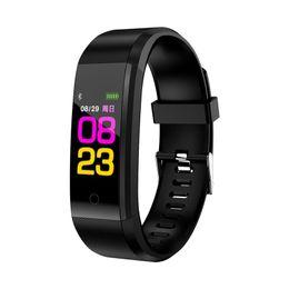 Cicret Pulsera Smartwatch Monitor de Ritmo Cardíaco Smartband Reloj Pulsómetro Deporte Salud Fitness Pulsera Rastreador para IOS Regalos de Navidad desde fabricantes