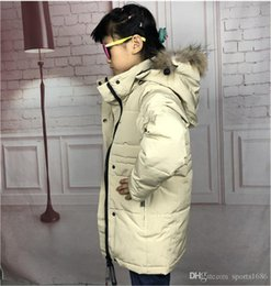 militärische grüne fleecejacke Rabatt 2019 Kinder Designer Wintermäntel Stil Trendy Jungen lange unten Jacke der Faden Cuff Militärgrün Tarnung Fiber Inner Bile Jungen Mäntel