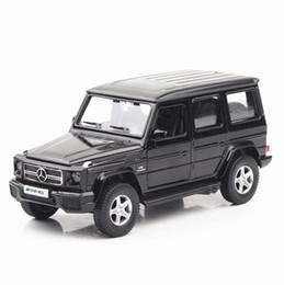 Argentina Nueva aleación de coches Diecast 1:36 Benz G63 Vehículos de juguete SUV Styling Cars Modelo de regalo de Navidad para niños Suministro