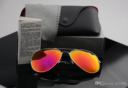 rückspiegelgläser Rabatt Hochwertige polarisierte linse pilot ray mode sonnenbrillen für männer und frauen markendesigner vintage sport sonnenbrille mit fall und box