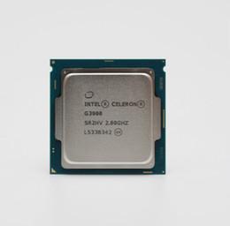 Escritorio de cuatro procesadores online-Procesador Intel Celeron G3900 2MB Cache 2.80GHz LGA1151 Dual Core CPU de la computadora de escritorio