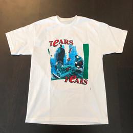 2019 camicia lacrimale RARE - lacrime vintage limited edition per paure t shirt band tee anni '80 originale # @ sconti camicia lacrimale