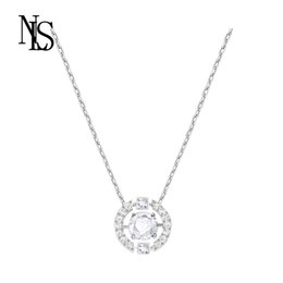 Оптовое гибкое ожерелье онлайн-Мода Классический Гибкое Сердце Ожерелье Женщина Ключица Оптом