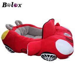 mini auto di gatto Sconti Bolux Cool Puppy Pet Dog Bed Fashion Car Shape Morbido Materiale durevole Nido Cani Casa di gatti Cuscino caldo per Teddy Canili Q190528