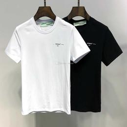 Chemises marques chine en Ligne-2019 SS Nouvelle Arrivée Top Qualité Marque Designer Vêtements Hommes T-Shirts Mode Femmes Imprimé T-shirts Chine Taille M-3XL 6126