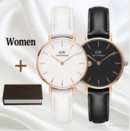 nuova tendenza all'orologio Sconti Nuova tendenza ragazza cintura Daniel Wellington orologio 32mm orologio da donna orologio al quarzo di lusso con scatola DW Orologio Relogio Feminino Montre Femme