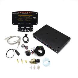 câble adaptateur iso Promotion 10 en 1 Nouveau Style Auto Sports Compteur Numérique OLED Tachymètre Numérique Capteur Complet Kit Compteur De Voiture Électrique YC101196
