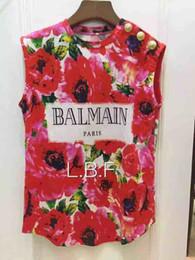 Chemises décontractées en soie femme en Ligne-Balmain Designer T-shirt 100% Vêtements de base Matériau Femme Vêtements En Soie Naturelle Classique À Col Haut À Manches Courtes Pour Polo Shirt
