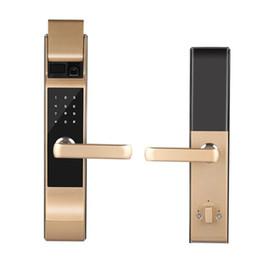 gleitende handys Rabatt Schieben Sie Fingerabdruckverschluß-Sicherheitstürinnentür-Handyfernelektronisches automatisches intelligentes Verschlusskennwortverschluß