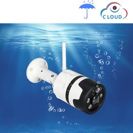 Wifi Açık IP Kamera 1080 P 2.0MP 720 P Su Geçirmez Kablosuz Güvenlik Kamera İki Yönlü Ses Gece Görüş P2P Bullet CCTV kamera nereden ip kamera güvenlik bullet tedarikçiler