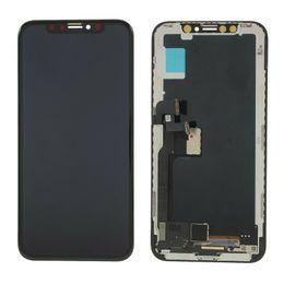 2019 iphone 4s schwarz Neue Ankunft für Iphone X Touch Screen Analog-Digital wandler LCD-Anzeigen-Versammlung 5.8inch Schirm-Wiedereinbau 5.8inch 100% geprüftes DHL Freeshipping