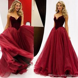2019 robe jaune d'or Robe de soirée boule rouge foncé chérie Tulle robe de soirée Robe de soirée longue et grande taille faite sur mesure