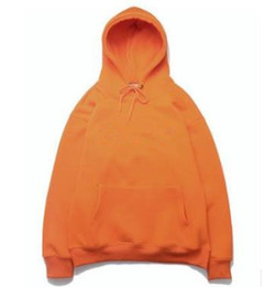hollister hoodie Coupons - Hiphop Mens Hoodies Rapper Kanye West Hooded Embroidery Sweatshirts Tops