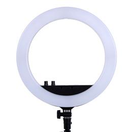 2019 видео 13 13-дюймовый фотостудия освещение светодиодные кольца 336pcs светодиодные лампы 3200-5600k фотографии затемнения кольцо лампы для видео, макияж скидка видео 13