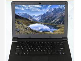 Ordenador portátil de inteligencia online-moda portátil netbook económica y de calidad de 4 GB de RAM + 480 GB SSD M.2 11,6 pulgadas Intel Atom x5-E8000 Quad Core 1.041GHz ordenador portátil de Windows