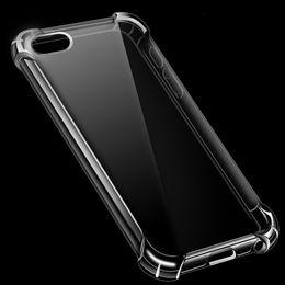 Llamo por teléfono online-Funda transparente híbrida a prueba de golpes para iPhone X XS MAX XR 8 7 6 6S Plus I Phone 8plus Soft Gel TPU Funda transparente