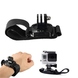2019 dji mavic pro accesorios GoPro hero3 correa de mano + / 3 360 grados accesorios GoPro fácil rotación de la correa del brazo Hero4 correa de muñeca para cámaras GoPro de acción