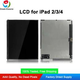 placa auo Desconto 100% testado nova marca oem display lcd substituição para ipad 2 3 4 original lcd interno assemblied frete grátis dhl