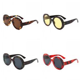 2019 полосовые солнцезащитные очки Хроматические Солнцезащитные Очки в Круглую Рамку Очки Панк Солнцезащитные Очки Мужчины И Женщины Цвета Mix 12ccb F1 дешево полосовые солнцезащитные очки