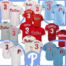 c36a7a65c Philadelphia 3 bryce harper Phillies jersey 10 Daulton 4 Lenny 7 Franco 99  Williams 2019 new baseball jerseys
