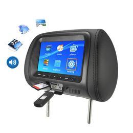 bs sprecher Rabatt Auto-Universal 7inch TFT LED-Schirm-Auto-Mp5 Kopfstützen hinten Digital Display Unterstützung Av / USB / SD-Eingang Fm Lautsprecher - B