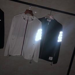 Regno Unito Stati Uniti giacche sportive casual giacche da uomo primavera Riflettente striscia cuciture vecchia m-xxl felpa con cappuccio da viaggio all'aperto da