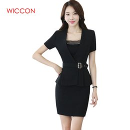 1ebe5b60edb731 2019 vestiti eleganti del pannello esterno delle signore Gonna donna Suit  New Spring Fashion Professional Summer