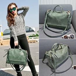 bolsas de fraldas femininas Desconto 2019 Moda Feminina Bolsa de Ombro PU de Couro mulheres bolsa Vintage Messenger Bag 4 cores Sacos de Fraldas C6047