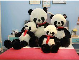 panda peluche grandi Sconti kawaii cartoon panda peluche bambola abbraccio orso grande peluche animali panda giocattolo cuscino per la ragazza regalo 120 cm 160 cm