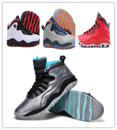 2019 echte feuer Nike Air Jordan Retro Shoes 2018 neue Neueste Superstar Schuhe Mann Turnschuhe 10 s X Sport feuer VIELE farbe Leinwand Echt Mens sport trainer Superman Mode Sportschuhe günstig echte feuer