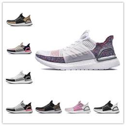 2019 Ultra Boost 18 mujeres de los hombres de los zapatos corrientes Tamaño Ultraboost 5.0 láser en blanco multicolor Ultra aumenta la mejor calidad deporte zapatilla de deporte 36-45 barato desde fabricantes