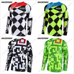 Maglia ciclocross online-Nuovo 2020 Off Road Cross country in bicicletta Jeseys Moto GP Mountain Bike Motocross Jersey lunga camicia Moto Abbigliamento