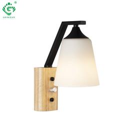 Blanc Escalier Lumières LED Lampe Murale Nordic Moderne E27 Ampoules Éclairage Intérieur Foyer Salle À Manger Salle De Bains Applique Monté Intérieur Déco ? partir de fabricateur