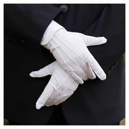 Trabalhando luvas de algodão on-line-1 par de trabalho do trabalho de algodão algodão luvas elásticas mulheres homens fino e médio de etiqueta grossa cerimonial luvas luvas de inspeção
