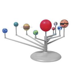 2019 modelli del sistema solare 10 set Sistema solare Nove pianeti Kit modello di sistema solare Astronomia Progetto scientifico Planetario Educazione mondiale per bambini AIJILE modelli del sistema solare economici