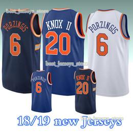 1346b8e9cd3 20 Kevin 2019 jersey 6 Porzingis New York Basketball Jerseys reliable  quality Knicks new Top MEN shirt Design sweater porzingis jersey on sale