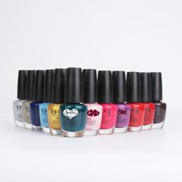 Uñas de gel mate online-296 colores 15 ml esmalte de uñas barniz de metal efecto espejo mate opaco color nudo serie de esmalte de manicura pintura de uñas punta color
