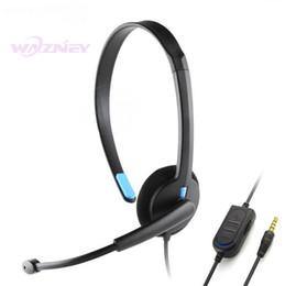 радиационный наклейка телефона Скидка Черный 3,5 мм с одной гарнитурой для наушников с микрофоном Проводной для Sony PS4 PlayStation 4 X-ONE Xbox One Gaming One
