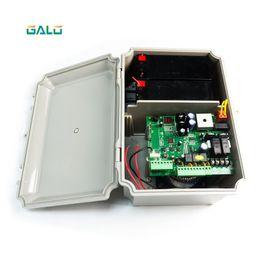 2019 porte de la boîte Système solaire bricolage utiliser GSM porte pivotante ouvre-porte actionneur contrôleur de porte moteur Batterie de secours Boîte promotion porte de la boîte