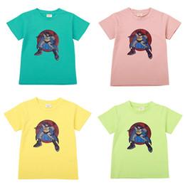 2019 camisas frescas para meninos Meninos Super Herói Marvel Homem Aranha Camiseta Homem Aranha Tee de Algodão Top Crianças Batman Mangas Curtas Partido Fresco Camisa Cinza Camisetas desconto camisas frescas para meninos