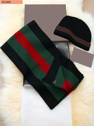 Inverno cachecóis e chapéus definidos para Mulheres e homens Lenços quentes Pashmina Scarf grossas Xailes chapéus com caixa de