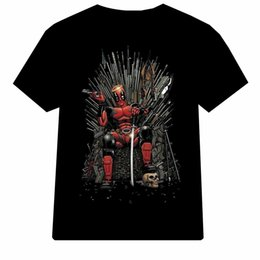 t shirt game throne Coupons - Man Cool Casual Shirt Deadpool Game of Thrones for Men T Shirt jacket croatia leather denim clothes cattt windbreaker Pug tshirt