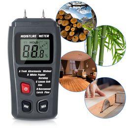 Medidor de Umidade de Madeira Digital 0-99.9% Testador de Umidade, Testes Precisos de Detector de Umidade de Madeira com Quatro Tipos de Padrões de Fornecedores de prateleira para ferramentas de garagem