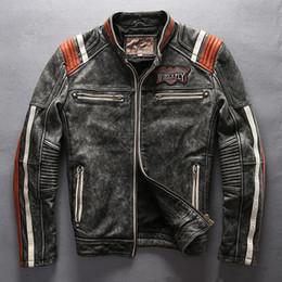 trajes indianos americanos Desconto Moda-x voar jaquetas de couro American costumes espírito motor cabeça Indiana Bordado jaquetas de motocicleta do vintage