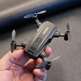2019 alarme chave de tampa Com a bateria, Mini dobrável zangão fotografia aérea WIFI, quadcopter helicóptero de controle remoto