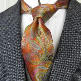 HISDERN Hommes Gilet Paisley Floral Cravate Cravate Poche Carre Mouchoir Gilet Ensemble